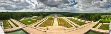 Panoramique du jardin de Vaux le Vicomte