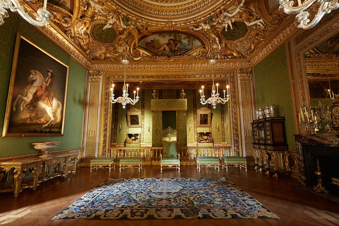 The ch teau vaux le vicomte for Interieur france