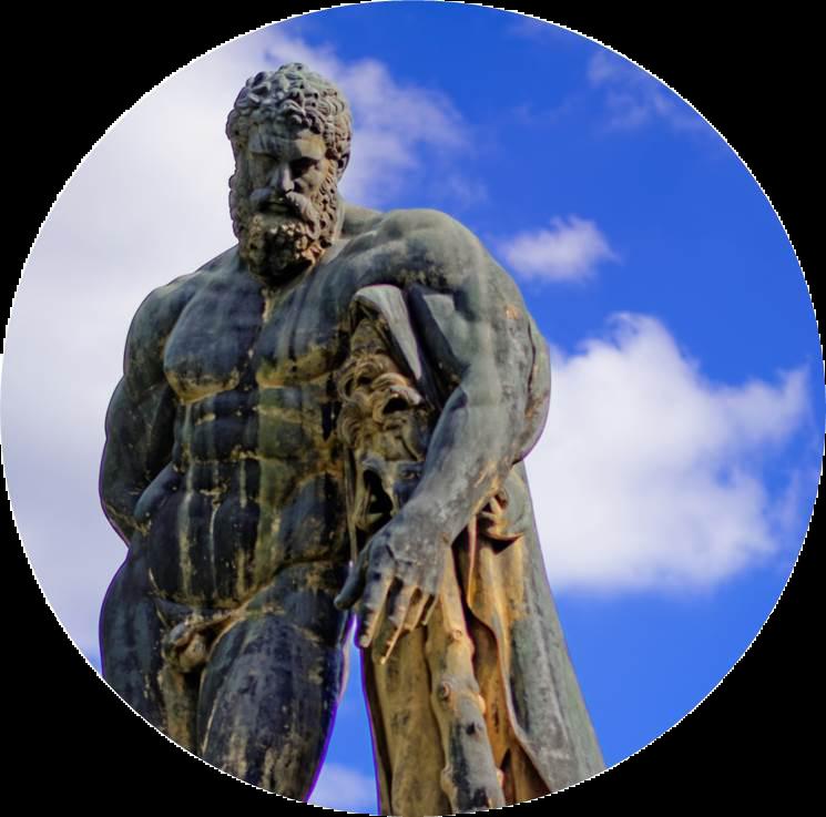 statue Hercule jardin de Vaux-le-Vicomte