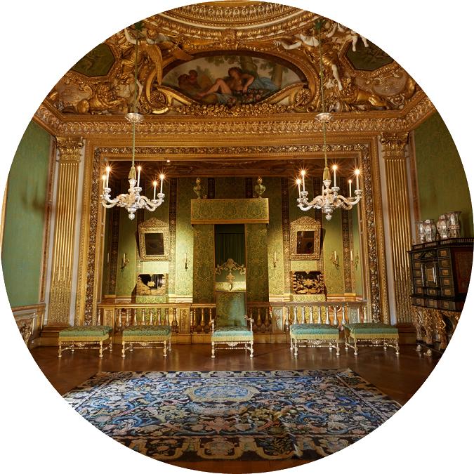 Chambre du roi du Château de Vaux-le-Vicomte