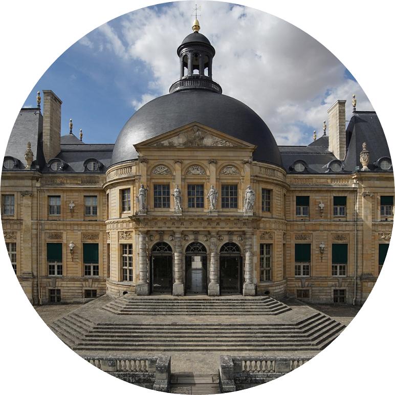 Château de Vaux-le-Vicomte façade sud