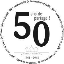 50 ans d'ouverture au public
