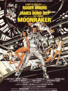 Moonraker James Bond affiche - VLV fait son cinéma 2018