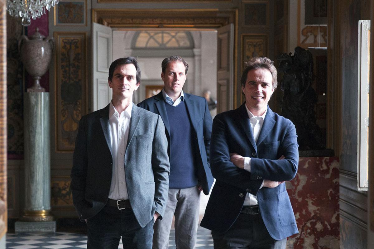 Trois frères Vogüé : Ascanio, Jean-Charles et Alexandre de Vogüé Journées Européennes du Patrimoine 2018