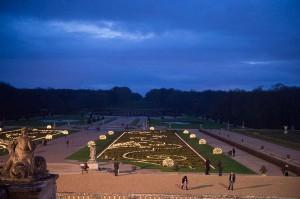 Jardins de Vaux Noël - Crédit Vaux le Vicomte BD